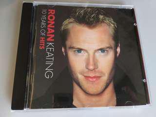CD: Ronan Keating 10 years of Hits