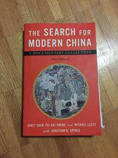 The Search for Modern China - Third Edition
