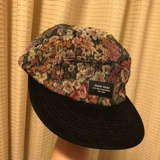 碎花刺繡cap帽