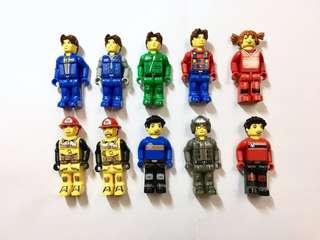 01-03年樂高Jack Stone絕版Lego 人仔。價錢是每隻計。絕版 lego 人仔 figure  這類樂高全球也難找👍,絶非香港週街也能買到的現代LEGO能夠相比💪