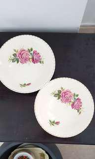 Vintage salad or soup bowls
