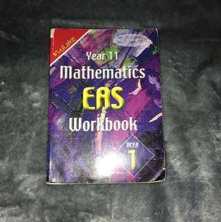 NCEA level 1 Mathematics workbook