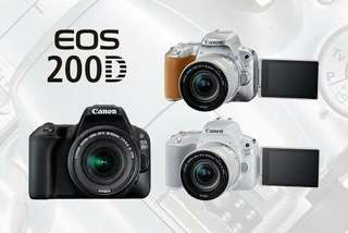 Camera Canon eos 200D murah bisa kredit proses cepat