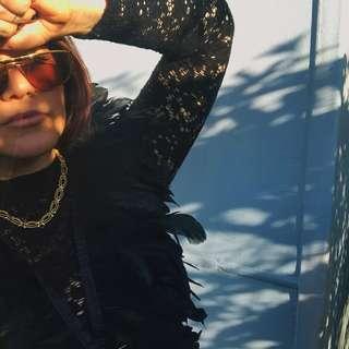 Vintage metal Fendi sunglasses, iconic