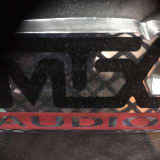 MTX Audio Woofer with Box