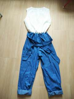 🈹全新韓國連身褲