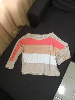 FOREVER21 Colorblock Top