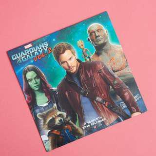 Guardians of the Galaxy Vol. 2 2018 18-Months Calendar