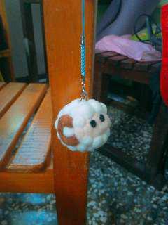 🚚 手作小羊羊毛氈吊飾