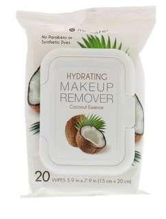 ❤️ Nu-Pore, 保濕卸妝濕巾,椰子精華,20片