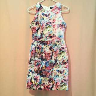 Oxford Floral Dress Size 6