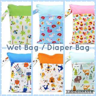 🚚 FREE MAIL📫 Wet Bag / Diaper Bag / Bag Organizer / Beach Bag / Travel bag / Gym Bag / Washable