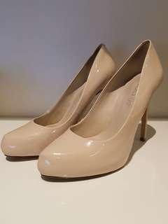 Nude Aldo Heels Size UK 6
