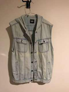 LEE Denim light blue vest