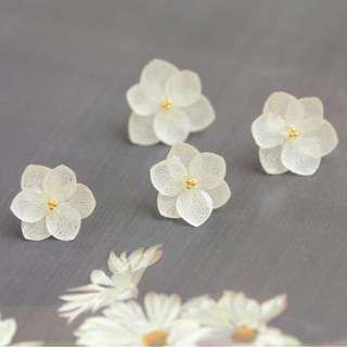 【Mist forest】REAL Flower!Kept in the glue (hand made with love)