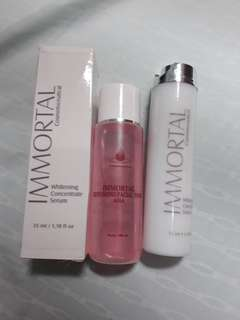 Immortal whitening serum