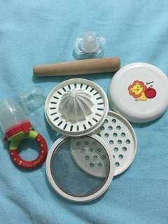 Food Processor, Fruit Feeder, Pacifier