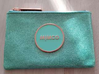 Mimco Seafoam Shimmer small pouch