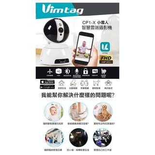 🚚 【贈32G記憶卡】Vimtag CP1-X 1080P FHD 小雪人 智慧雲端攝影
