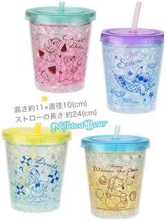 🇯🇵日本Disney直送🎁新款冰感stitch/ chip& dale/ donald duck / pooh 水杯 (預訂)