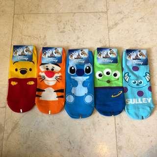 Colourful Disney socks