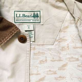 L.L. Bean Barn Field Coat with Corduroy Collar