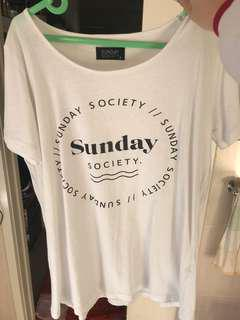 Sunday society tee