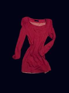 Retro Rose Velvety Bodycon Dress - Long Sleeved Sexy Stretch Pink Mini With Structured Shoulders