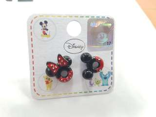 Disney Mickey Minnie Mouse Ears stud earrings