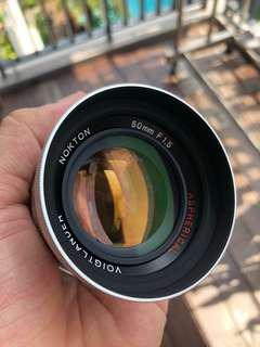 Voigtlander Nokton 50mm f1.5 Aspherical LTM