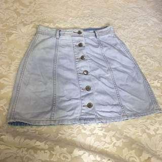 Sixty-eight Denim Skirt