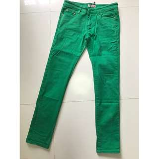August Jean green trousers