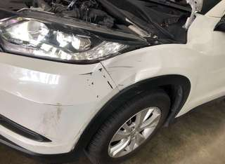 2018 Honda Vezel Quality accident repair panel beating and spray painting works.
