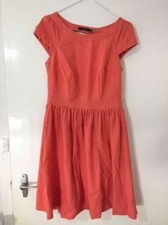 Portmans Coral Corporate Dress 6