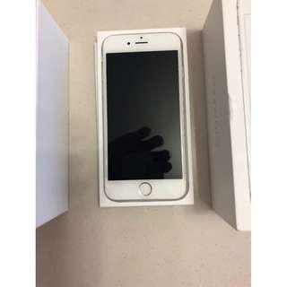 iPhone 6s Silver 16GB - screen clacked