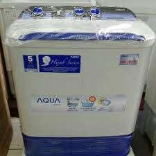 kredit tanpa kartu kredit via home credit mesin cuci aqua 2 tabung 8KG