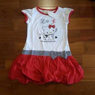 kitty love red dress
