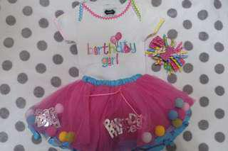 Mud Pie Birthday Dress / Tutu