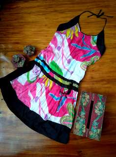 Colourful Strappy Dress