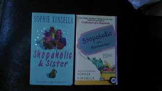 英文暢銷小說兩本 Sophie Kinsella