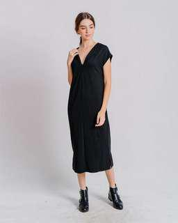 Dress Hitam/Black Dress This Is April - Evia Dress
