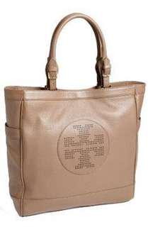 Tory Burch sand colour handbag