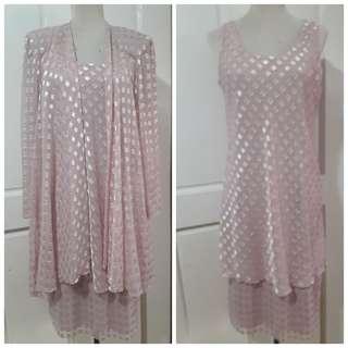 🔴super sale🔴 elegant dress e/ vest