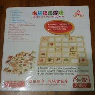 BNIB Right Brain Memory Game