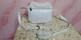 Collectors piece!!♥ gianni versace coated canvas and leather crossbody camera bag