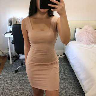 KOOKAI Morgan Dress Frappe/Nude