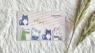 Animals Magnetic Bookmarks