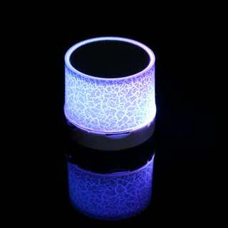 LED PORTABLE MINI WIRELESS BLUETOOTH SPEAKERS