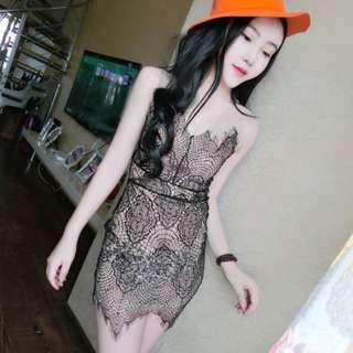 Sexy Lace bodycon dress