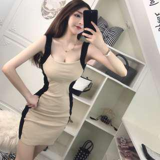 Sexy bodycon slim dress
